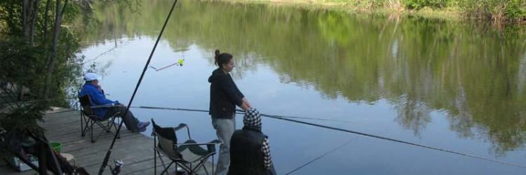 выбираем место для рыбалки на реке