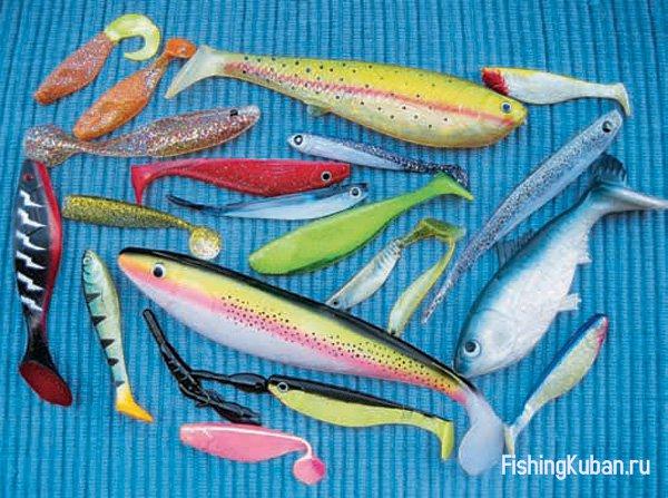 силиконовая рыбка для ловли судака